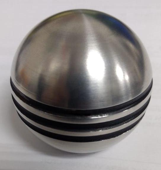 Manopla de cambio em alumínio para alavanca EMPI trigger   - SSR Peças & Acessórios ltda ME.