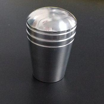 Manopla mod. PERA Alumínio FUSCA / BRASILIA / TL ETC  - SSR Peças & Acessórios ltda ME.