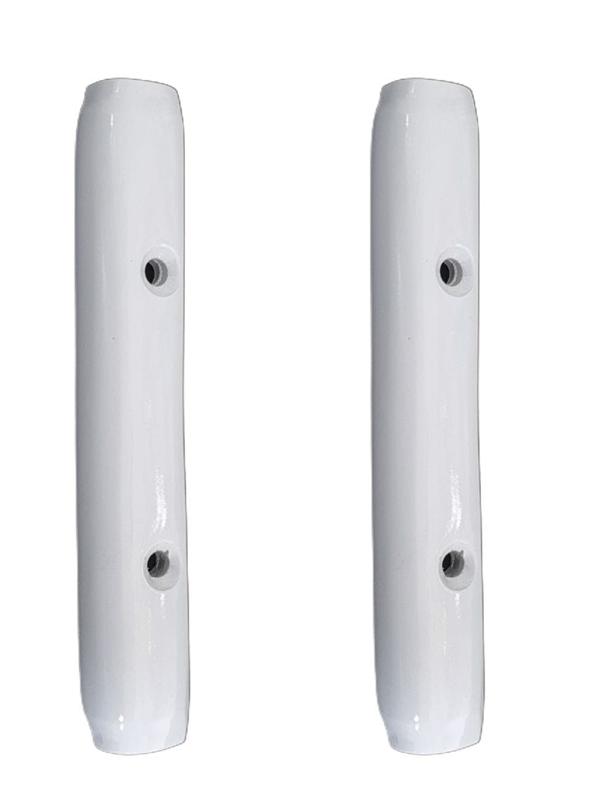 PAR Acabamento METAL branco da dobradiça vidro basculante FUSCA   - SSR Peças & Acessórios ltda ME.