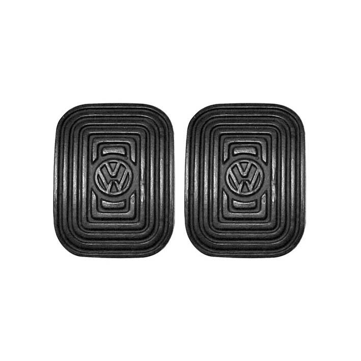 Par capa pedal VW freio embreagem FUSCA até 1975  - SSR Peças & Acessórios ltda ME.