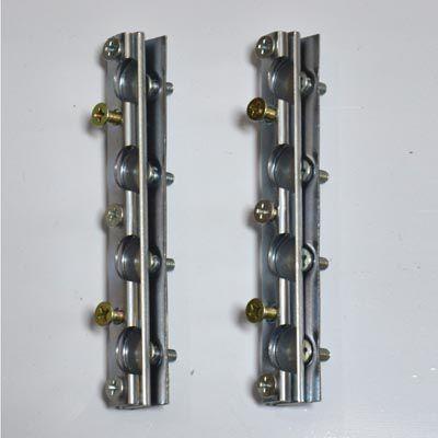 Par de dobradiças para janela lateral basculante FUSCA   - SSR Peças & Acessórios ltda ME.