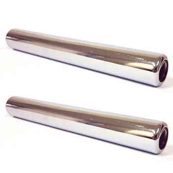 Par de ponteiras curtas escapamento fusca modelos originais (ASSOBIAM)    - SSR Peças & Acessórios ltda ME.