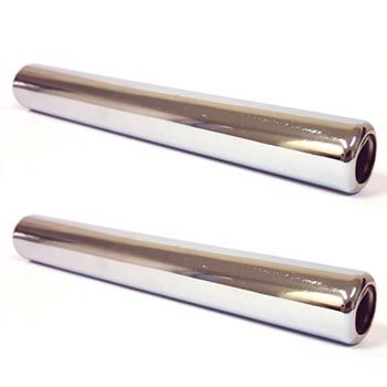 Par de ponteiras longas escapamento fusca modelos originais (ASSOBIAM)    - SSR Peças & Acessórios ltda ME.
