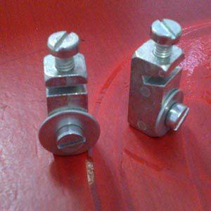 Par de tijolinho placa dianteiro fusca 71/96 maciço  - SSR Peças & Acessórios ltda ME.