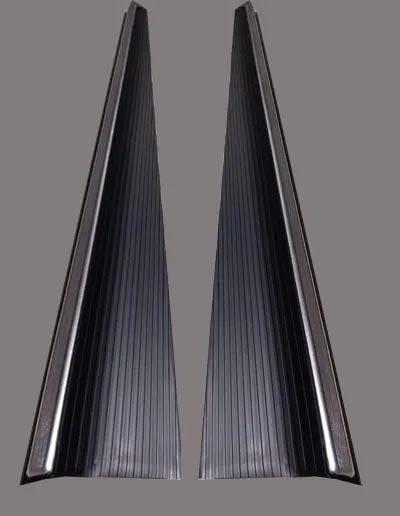 Par Estribos c/ friso fusca 71 até 96 com chapa e capa reforçada  - SSR Peças & Acessórios ltda ME.