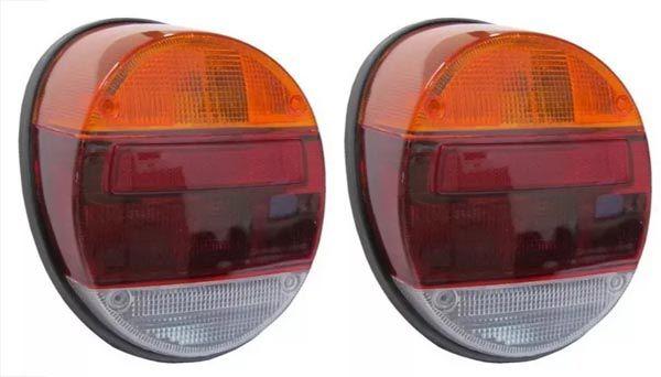 Par lanterna (não desbota) traseira fafa completa c/ base e soquetes  - SSR Peças & Acessórios ltda ME.