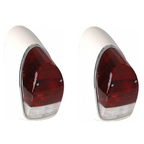 Par lanternas bicolor ACRÍLICAS traseira completa (- lâmpada) FUSCÃO   - SSR Peças & Acessórios ltda ME.