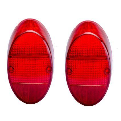 Par lanternas RUBI traseira completa - lâmpada FUSQUINHA   - SSR Peças & Acessórios ltda ME.