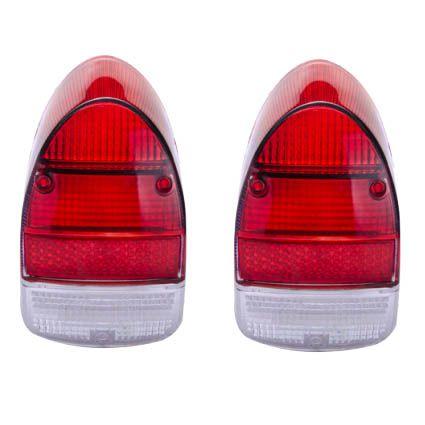 Par lentes EM ACRÍLICO para lanternas traseira FUSCÃO (bicolor)   - SSR Peças & Acessórios ltda ME.