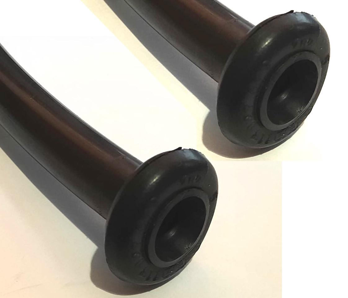 Par mangueira escoamento de água (morcegão) tampa traseira fusca (c/ guarnições originais)  - SSR Peças & Acessórios ltda ME.