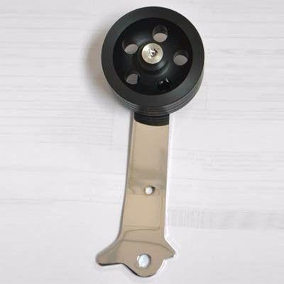 Pedal acelerador ROLLER NYLON PRETO  - SSR Peças & Acessórios ltda ME.