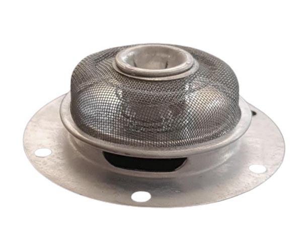 Peneira filtro de óleo com mola central  - SSR Peças & Acessórios ltda ME.