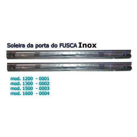 Soleira da porta do FUSCA em aço inox  - SSR Peças & Acessórios ltda ME.