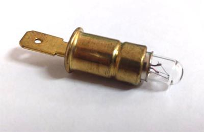 Soquete painel fusca até 76 c/ lampada   - SSR Peças & Acessórios ltda ME.