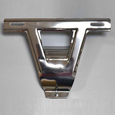 Suporte INOX T da placa dianteira do FUSCA ano até 1970 1. série  - SSR Peças & Acessórios ltda ME.