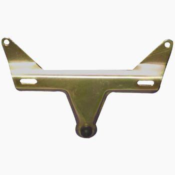 Suporte para placa traseira em metal galvanizado fusca 64/70  - SSR Peças & Acessórios ltda ME.