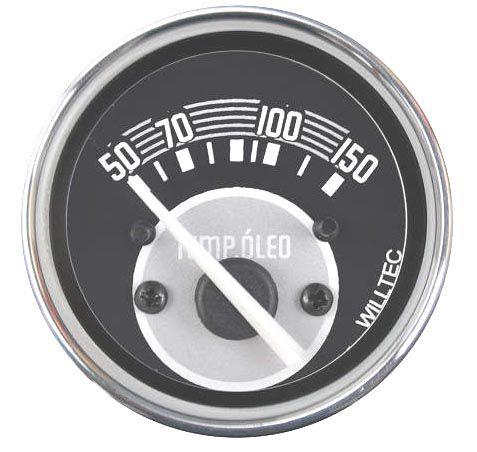 Termômetro Elétrico do Óleo 50-150°C 12V   52mm  - SSR Peças & Acessórios ltda ME.