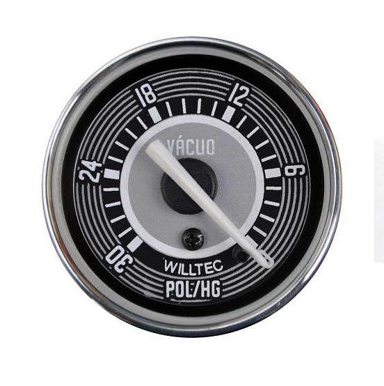 Vacuômetro 0-30 pol/Hg 52mm  - SSR Peças & Acessórios ltda ME.