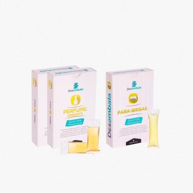 Perfume para Ambientes + Limpador de Parabrisas