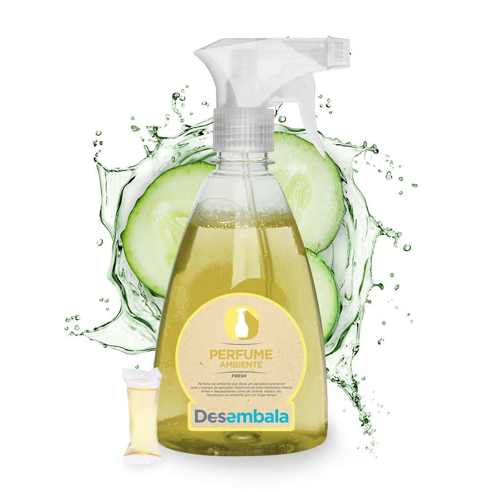 Perfume para Ambientes COM FRASCO REUTILIZÁVEL
