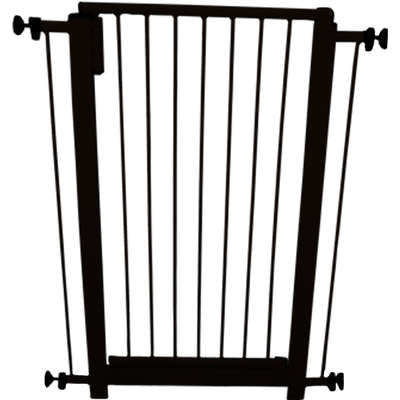 Portão de segurança(Portão Pet)-Preto