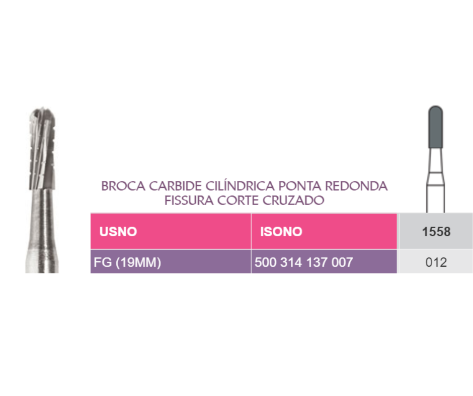 BROCAS 1557/1558  - PRIMA DENTAL