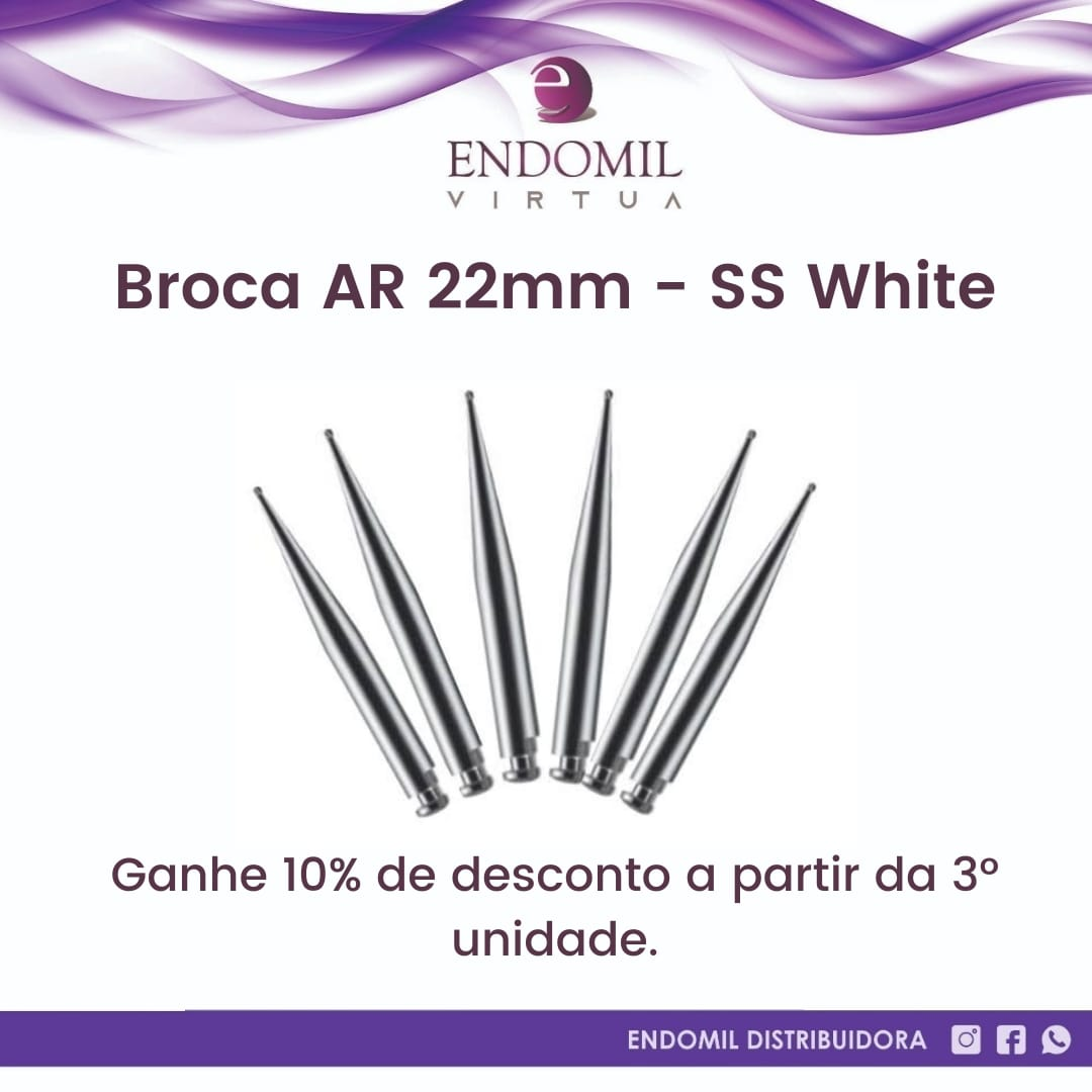 BROCA CARBIDE AR 22mm - SS WHITE