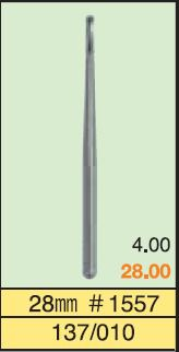 BROCA SURGICAL BURS  MANI - Nº2 , 330, 1557 28mm
