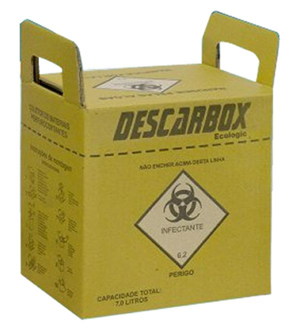 COLETOR PERFUROCORTANTE - DESCARBOX