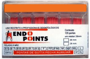 CONE DE GUTA Auxiliar - ENDO POINTS