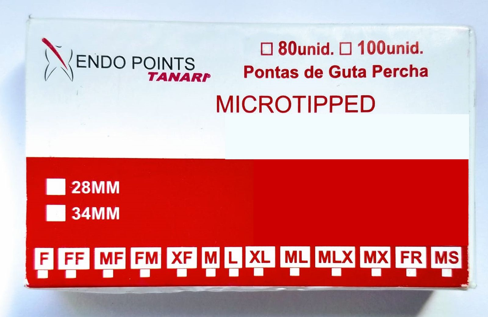 CONE DE GUTA  Microtipped - ENDO POINTS