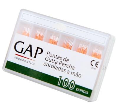 CONE DE GUTA PERCHA - GAP ENDODONTICS