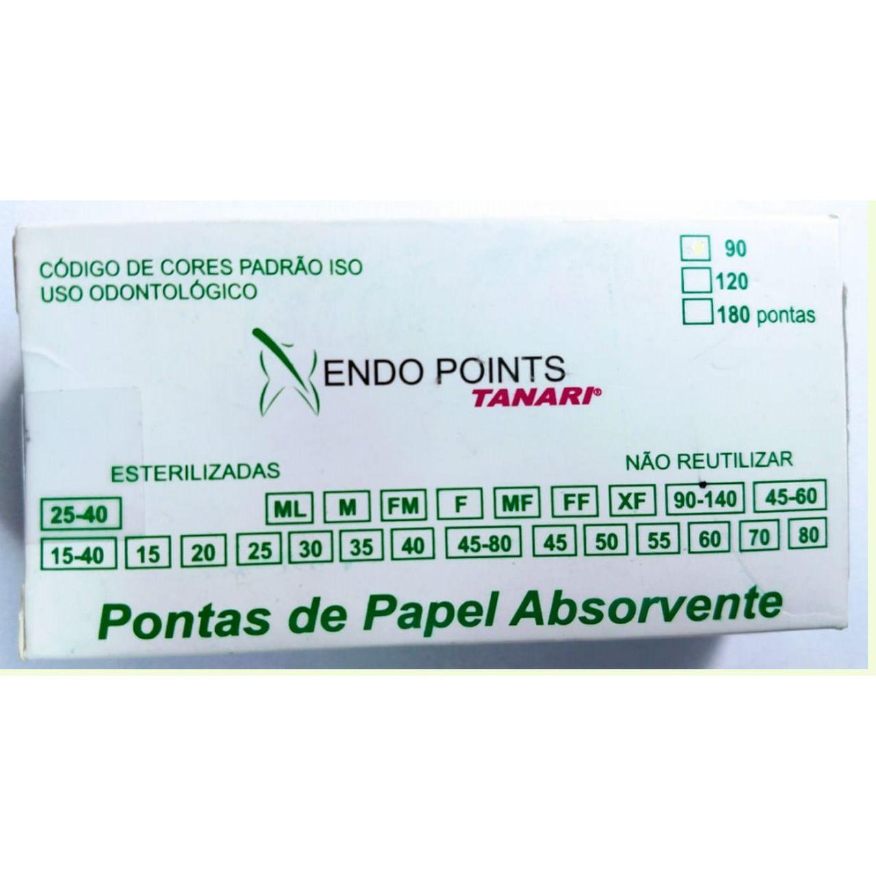 CONE DE PAPEL CONVENCIONAL - ENDO POINTS