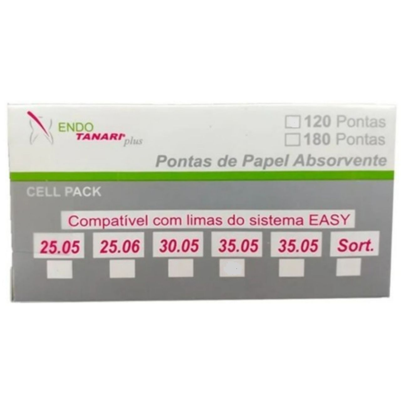 CONE DE PAPEL EASY LOGIC - ENDO POINTS TANARI