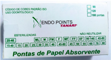 CONE DE PAPEL MICROTIPPED -  ENDO POINTS