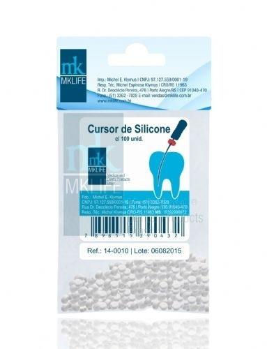 CURSOR DE SILICONE (STOP) -  MK LIFE