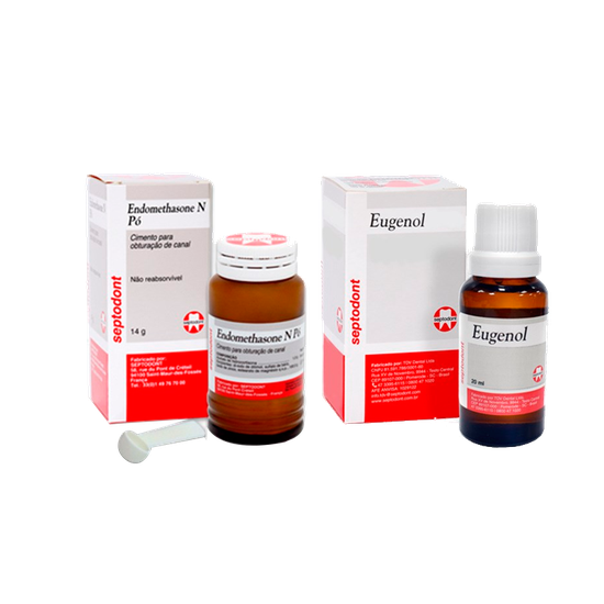 ENDOMETHASONE N - 14G DE PO + EUGENOL 20ML