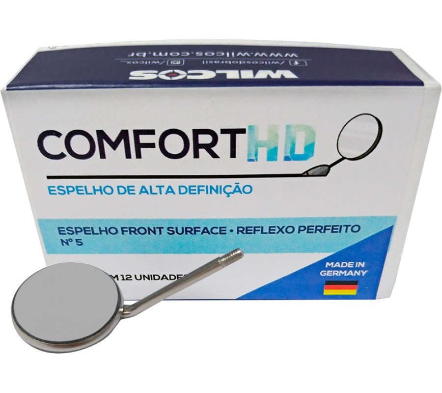 ESPELHO CONFORT HD FRONT SURFACE N°5 - WILCOS