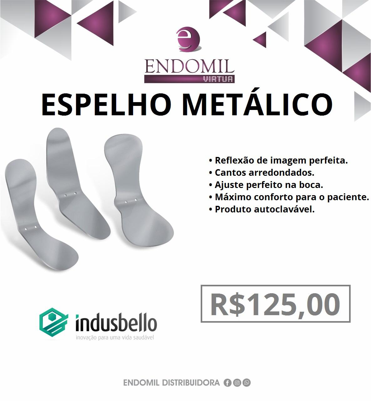 ESPELHO METÁLICO - INDUSBELLO