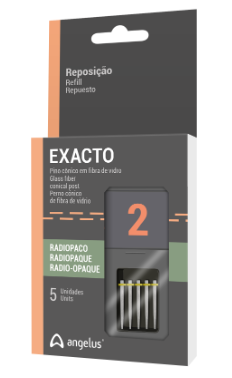 EXACTO - Pino fibra de vidro - ANGELUS
