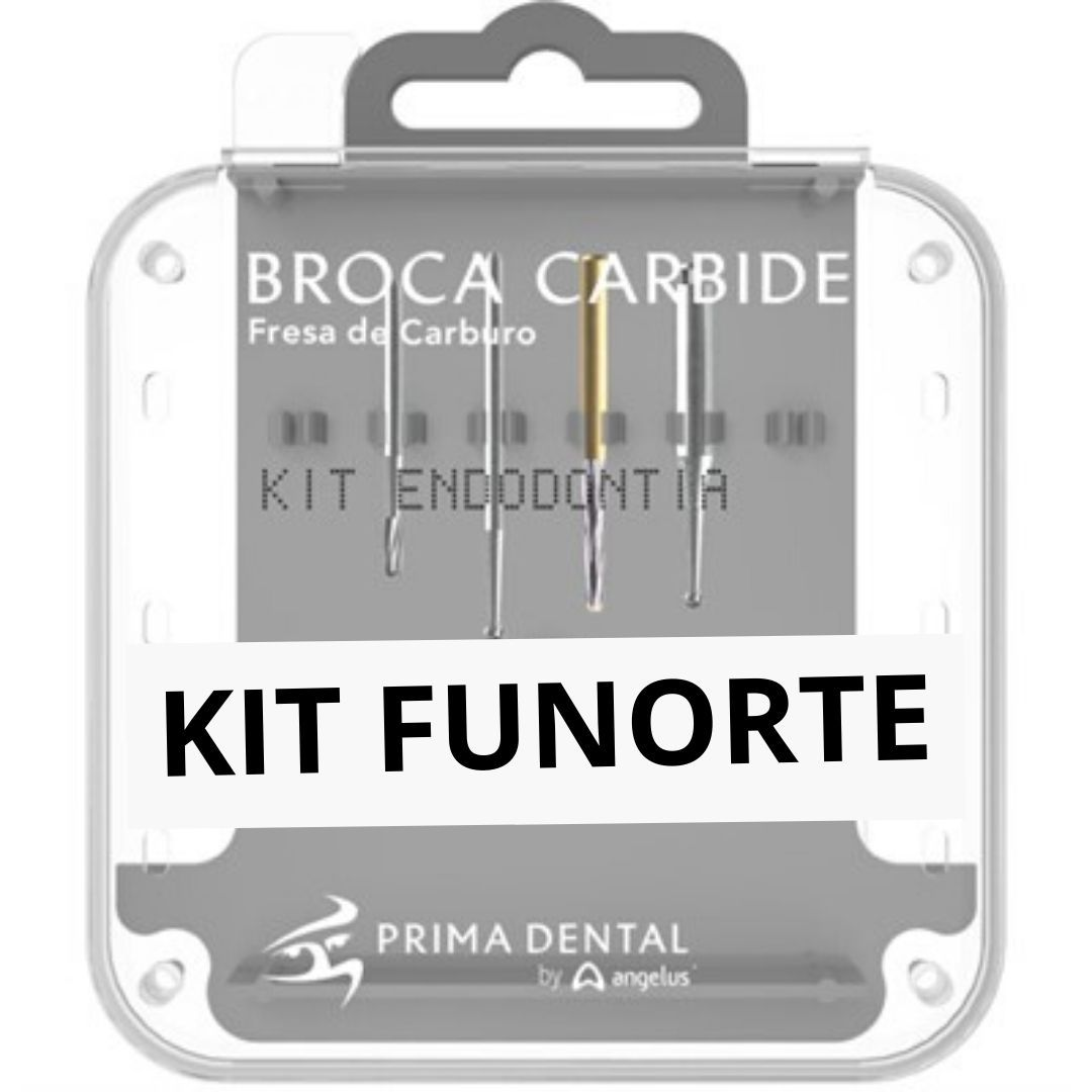 KIT BROCAS FUNORTE Prima Dental