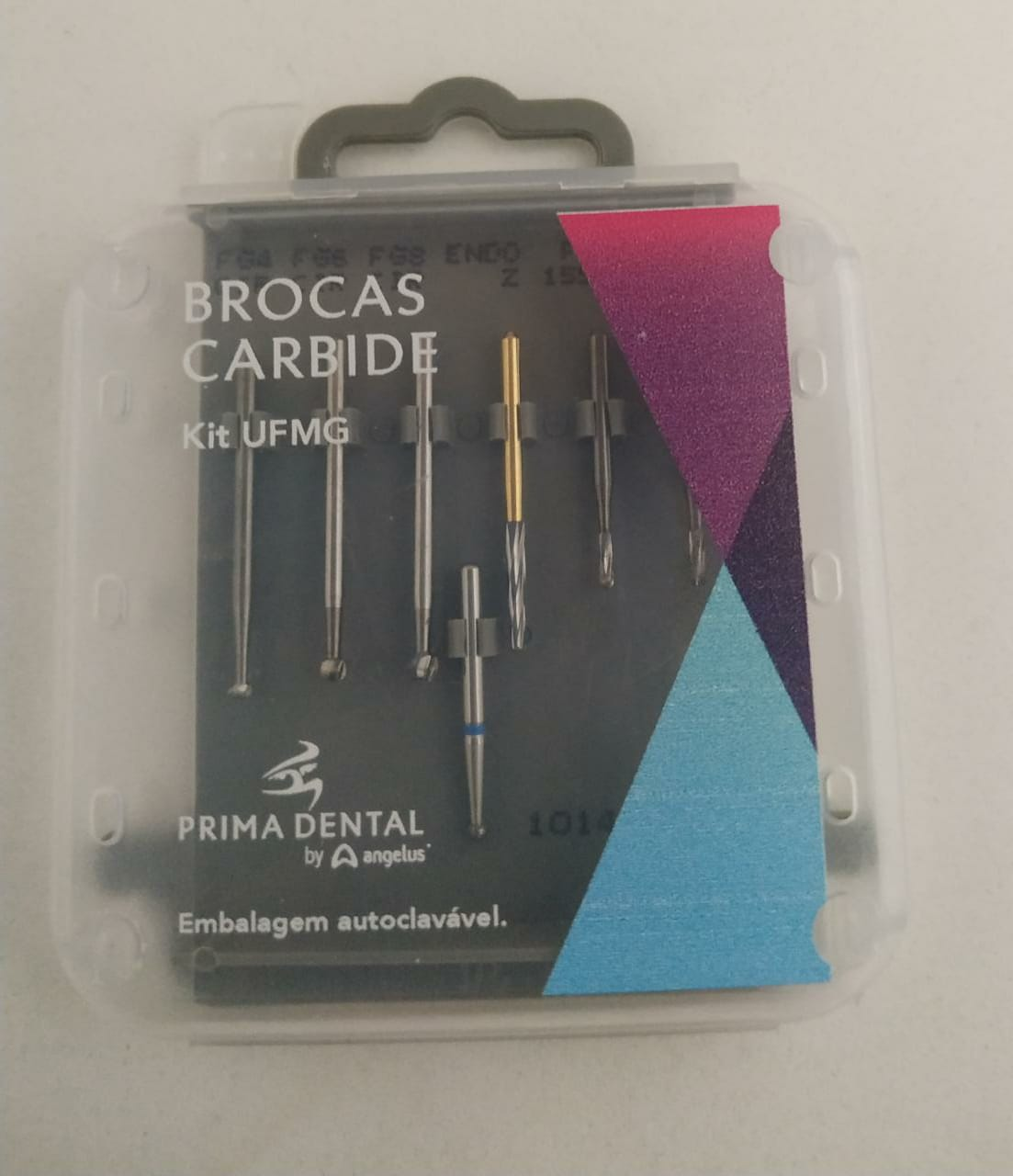 KIT BROCAS UFMG - PRIMA DENTAL ANGELUS