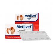 Anti-Inflamatório Vetnil Metilvet 5mg 10cp para Cães e Gatos