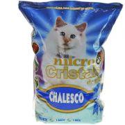 AREIA SANITÁRIA CHALESCO MICRO CRISTAIS DE SILICA 1.8 KG