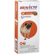 Bravecto Antipulgas e Carrapatos MSD Comprimido para Cães de 4,5 a 10 Kg