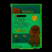 DOG CHOW PS ADULTO RAÇAS PEQUENAS CARNE E ARROZ 100G