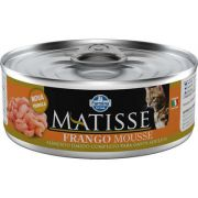 MATISSE CAT WET MOUSSE FRANGO 0,085 KG