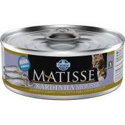 MATISSE CAT WET MOUSSE SARDINHA 0,085 KG