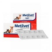 Metilvet 10mg Anti-inflamatório Vetnil para Cães e Gatos com 10 comprimidos