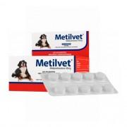 Metilvet 40mg Anti-inflamatório Vetnil para Cães com 10 comprimidos